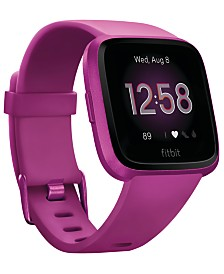 Fitbit Versa Lite Mulberry Strap Smart Watch 39mm