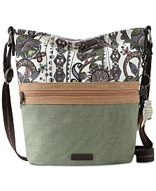 Sakroots Soft Bucket Crossbody