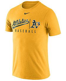 Nike Men's Oakland Athletics Dri-Fit Practice T-Shirt