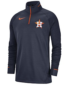 Nike Men's Houston Astros Dry Game Elite Quarter-Zip Pullover