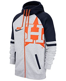 Nike Men's Houston Astros Walkoff Full-Zip Hoodie