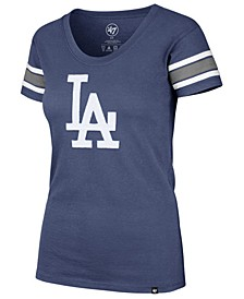 Women's Los Angeles Dodgers Off Campus Scoop T-Shirt