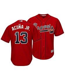 Men's Ronald Acuna Atlanta Braves Player Replica Cool Base Jersey