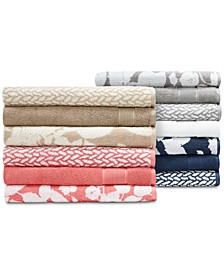 Sanders  Antimicrobial Mix and Match Bath Towel Collection