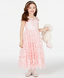 Matching Sister Dress Toddler, Little & Big Girls Floral Embroidered Dress