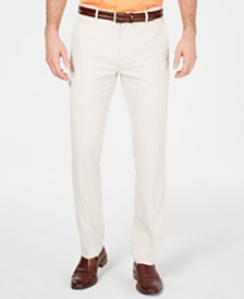 Alfani Men's AlfaTech Slim-Fit Stretch Pants, Created for Macy's