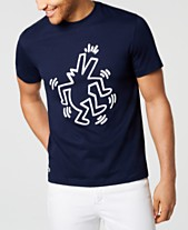 fb4a7adda6d Lacoste x Keith Haring Men s Printed Jersey T-Shirt