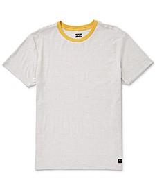 Men's Die-Cut Striped T-Shirt