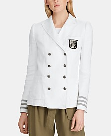 Lauren Ralph Lauren Double-Breasted Blazer