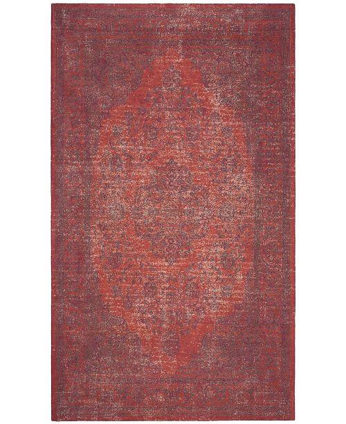 Safavieh Classic Vintage Orange and Red 4' x 6' Area Rug