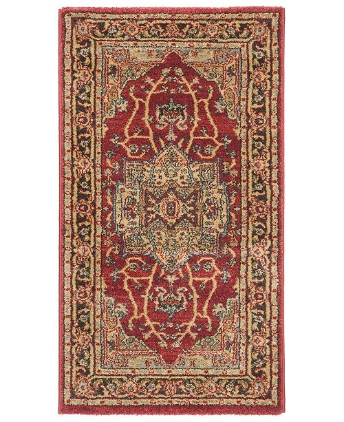 Safavieh Mahal Natural and Navy 3' x 5' Area Rug