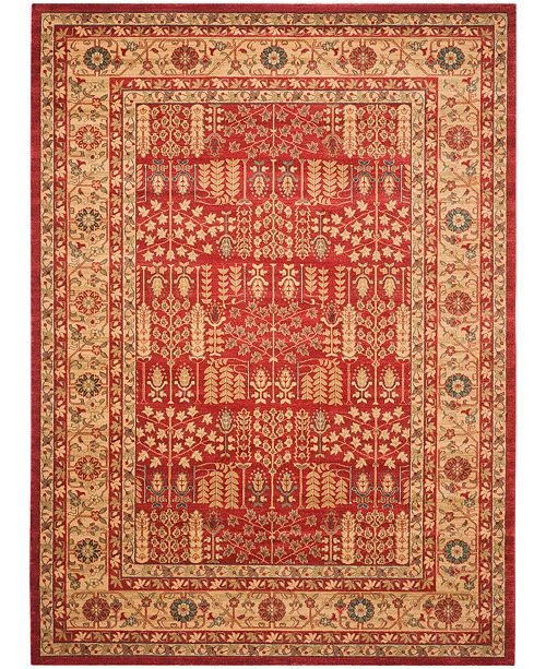 Safavieh Mahal Red and Natural 11' x 16' Rectangle Area Rug