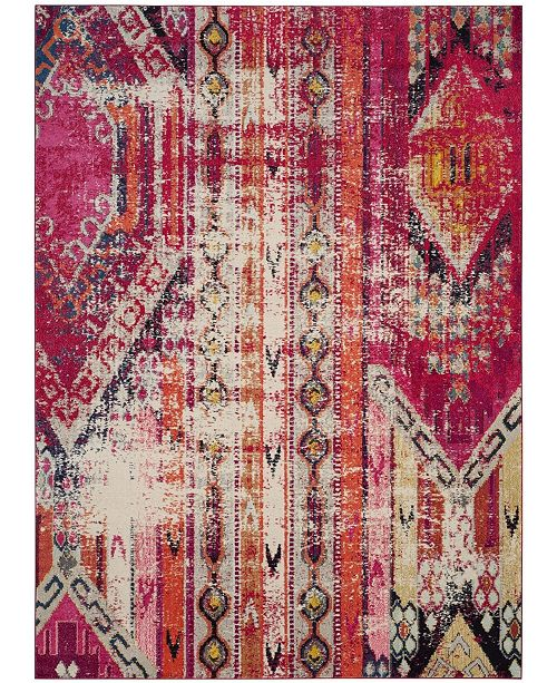 Safavieh Monaco Magenta and Multi 8' x 10' Area Rug