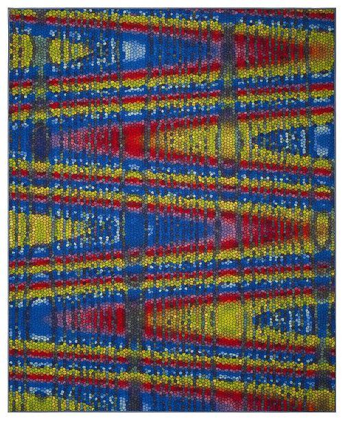 Safavieh Aztec Blue and Multi 8' x 10' Area Rug