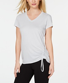 Calvin Klein Performance Ruched Top