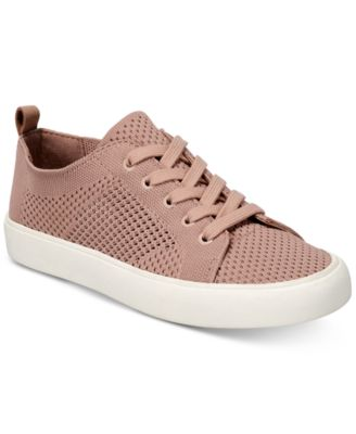 5c7cd9b3909 Sashya Lace-Up Knit Sneakers