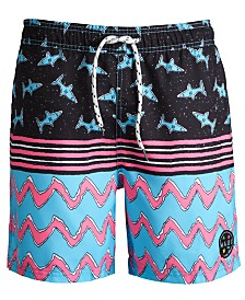 "Maui and Sons Men's Logo Graphic 20"" Swim Trunks"