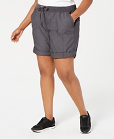 Calvin Klein Performance Plus Size Cargo Shorts