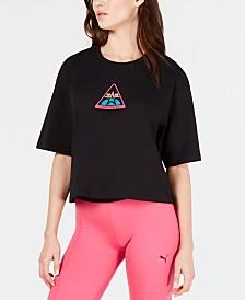 Puma TZ Cotton Graphic Cropped T-Shirt