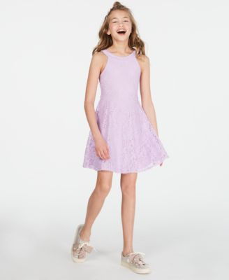 Big Girls Lace Dress, Created for Macy's