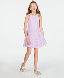 Epic Threads Big Girls Lace Dress, Created for Macy's