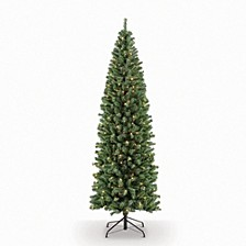 International 7.5 ft. Pre-Lit Noble Fir Artificial Christmas Tree with 350 Clear UL listed Lights