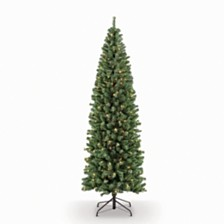 Puleo International 7.5 ft. Pre-Lit Noble Fir Artificial Christmas Tree with 350 Clear UL listed Lights