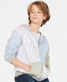 Epic Threads Big Boys Colorblocked Full-Zip Hoodie, Created for Macy's