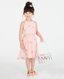 Epic Threads Toddler Girls Embroidered Butterfly Dress, Created for Macy's