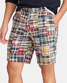 Polo Ralph Lauren Men's Big & Tall Classic-Fit Madras Shorts