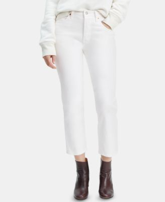 501® Crop Straight-Leg Jeans
