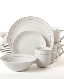 Platinum Moon 16 Piece Dinnerware Set