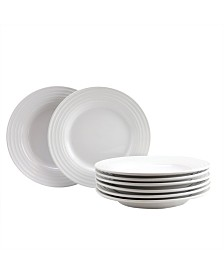 "Plaza Cafe 8 Piece 8.5"" Dessert Plate Set"