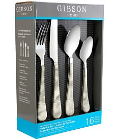Marble Fountain 16 Piece Flatware Set