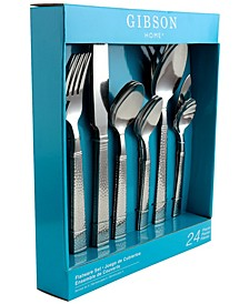 24 Piece Flatware Set