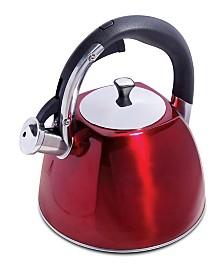 Mr. Coffee Belgrove 2.5 Quart Whistling Tea Kettle