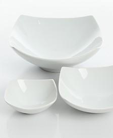 Gracious Dining 3 Piece Ceramic Bowl Set