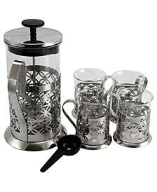 Mr. Coffee Trellise 5 Piece Coffee Press Set