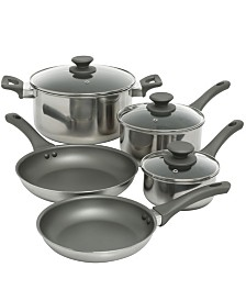 Oster Cuisine Rivendell 8 Piece Nonstick Aluminum Cookware Set