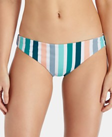 Raisins Juniors' Indie Vibes Reversible Bikini Bottoms