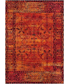 """Safavieh Vintage Hamadan Orange 6'7"""" x 9' Area Rug"""