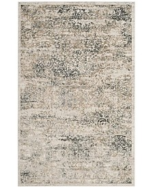 Princeton Silver and Anthracite 4' x 6' Area Rug