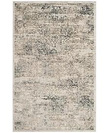 Safavieh Princeton Silver and Anthracite 4' x 6' Area Rug