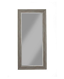Martin Svensson  Antique Grey Farmhouse Full Length Leaner Mirror