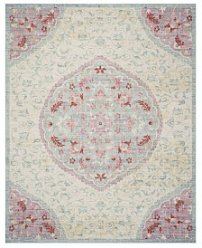 Safavieh Windsor Light Gray and Blue 8' x 10' Area Rug