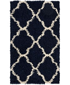 Dallas Navy and Ivory 3' x 5' Area Rug