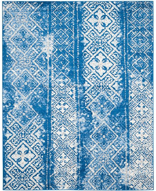 Safavieh Adirondack Silver and Blue 8' x 10' Area Rug