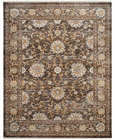 Vintage Persian Brown and Multi 8' x 10' Area Rug