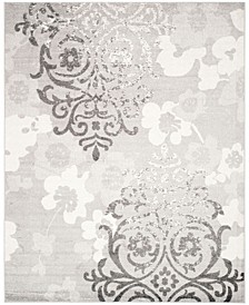 Adirondack Silver and Ivory 8' x 10' Area Rug