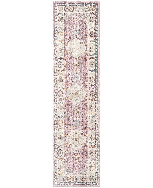 """Safavieh Illusion Rose and Cream 2'3"""" x 8' Runner Area Rug"""